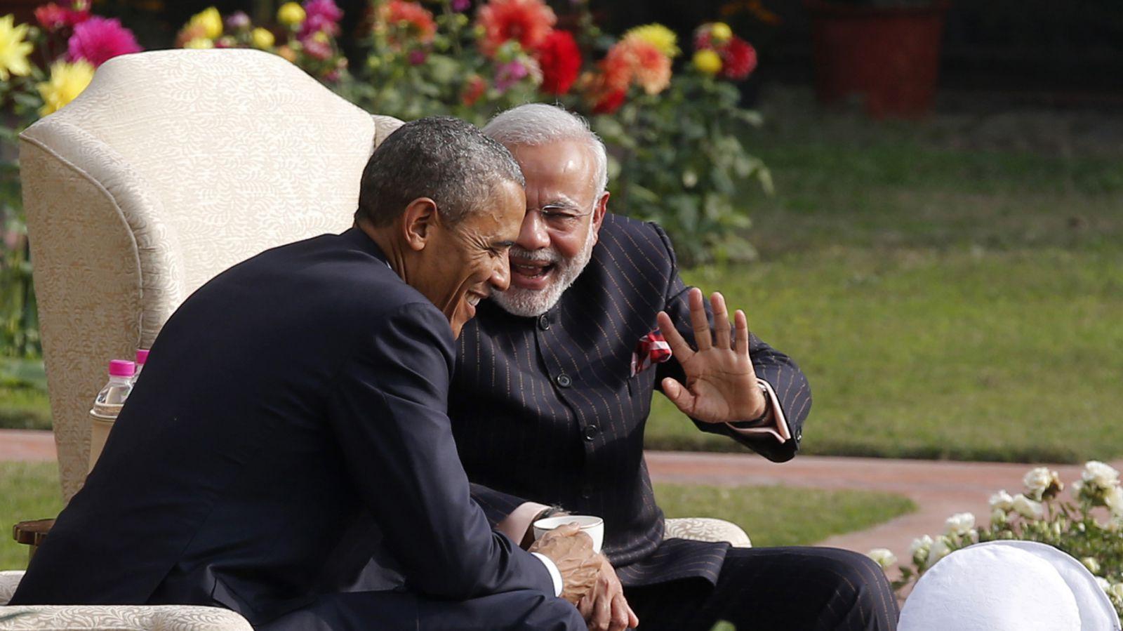 India-Obama-Modi