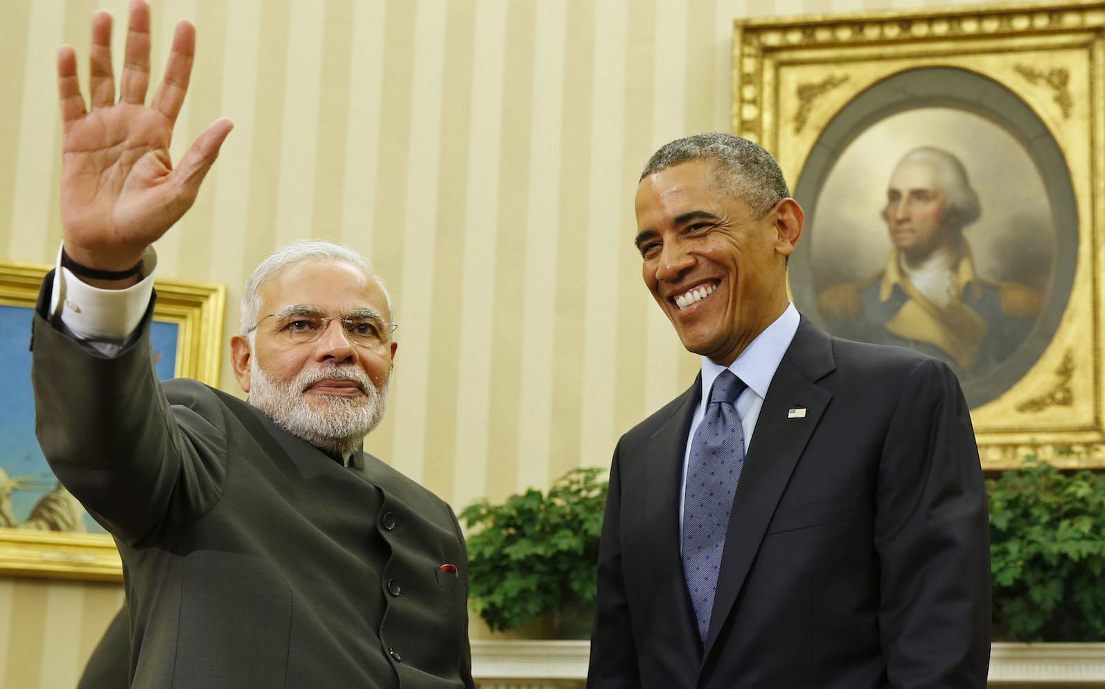 Obama-india-modi
