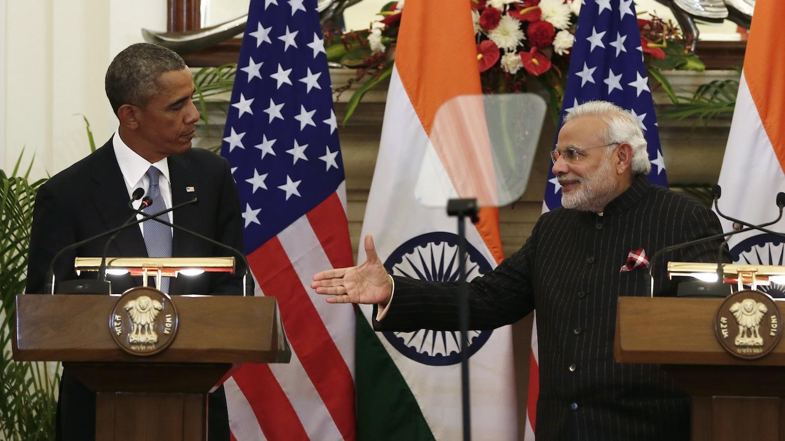 Barack Obama-Narendra Modi-India-US