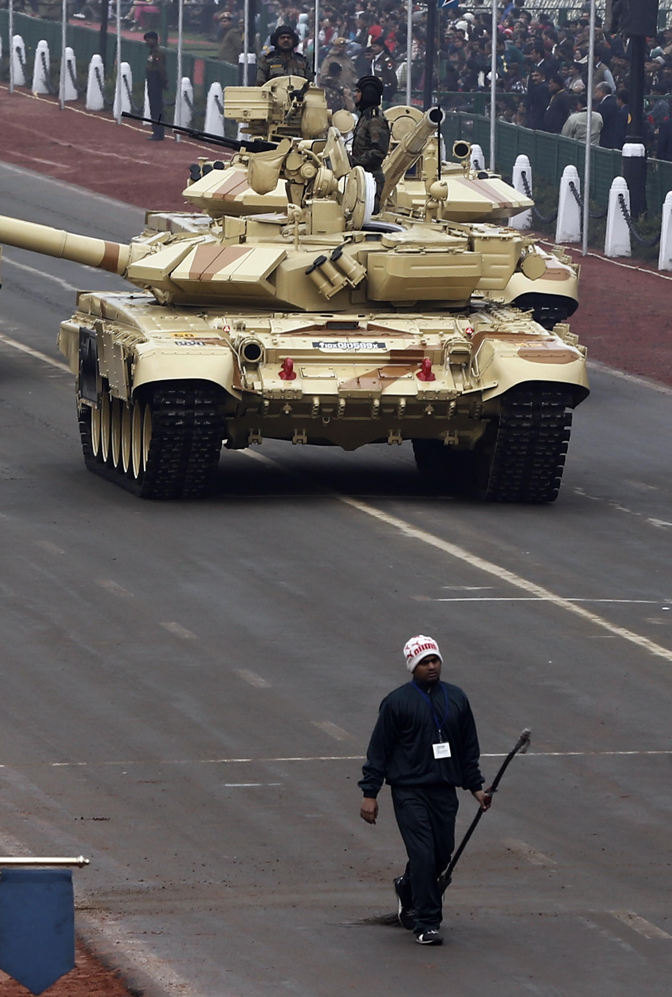India-Republic Day-Tank