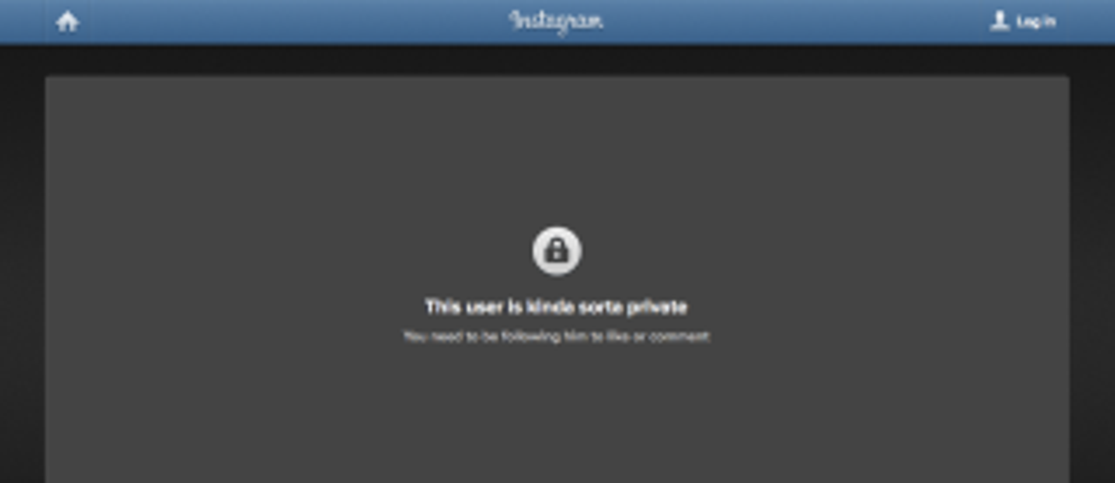 Instagram privacy screenshot