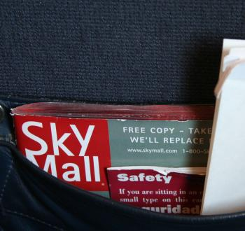 SkyMall catalog by Flickr user