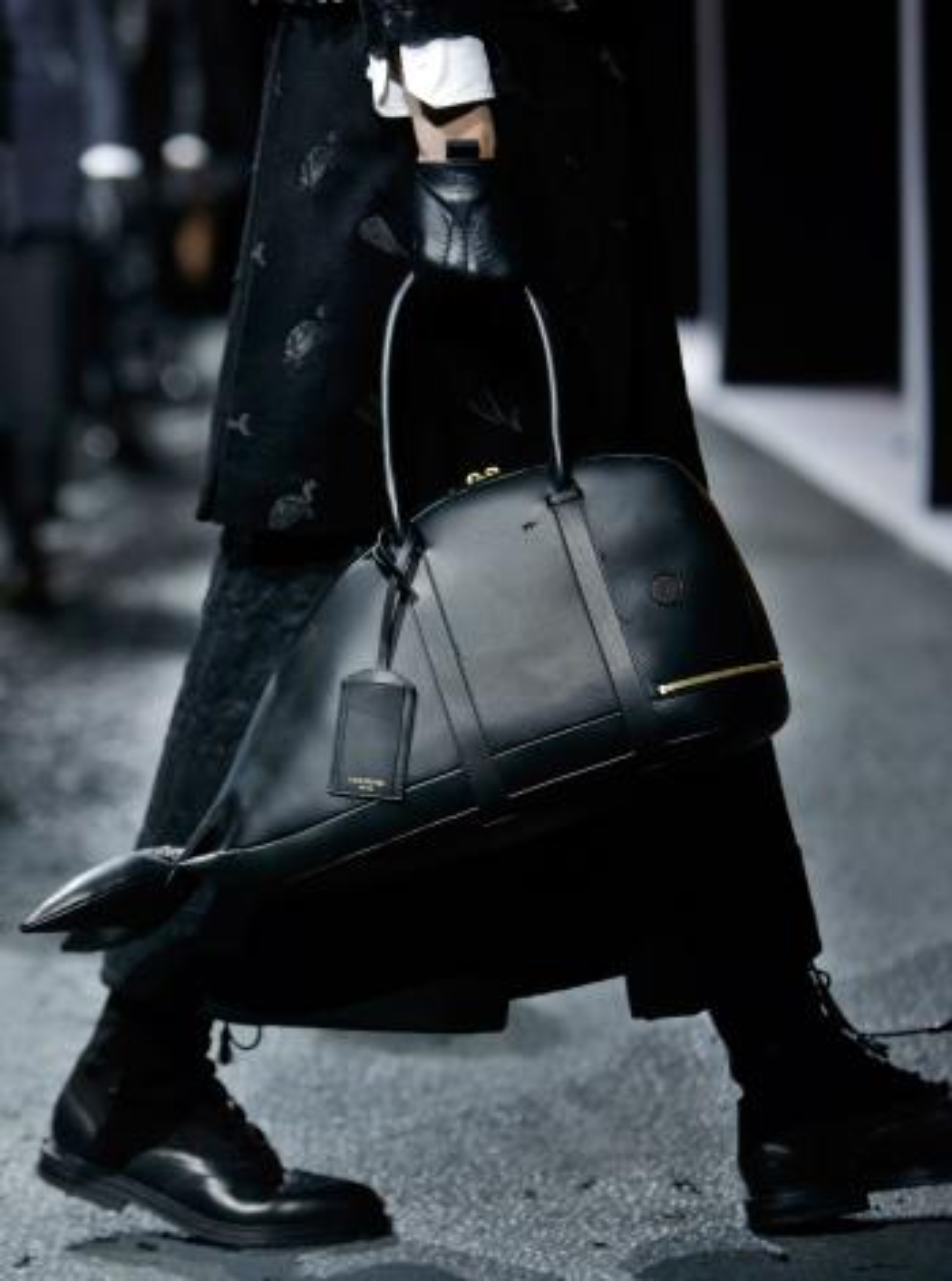 man bags, fashion, lifestyle, thom browne, menswear, fall 2015