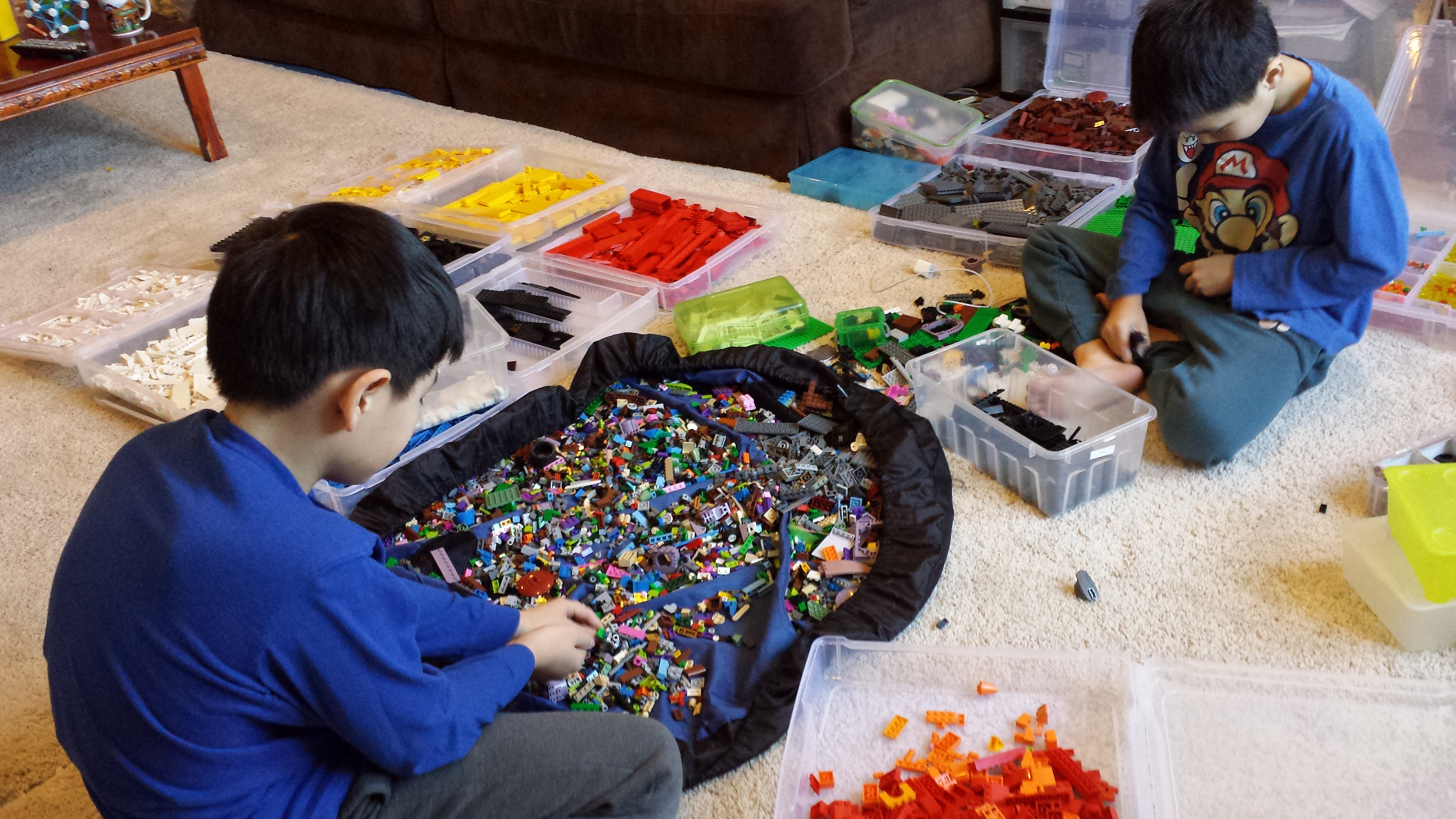 How Lego Freaks Stack And Store Their Legos Quartz