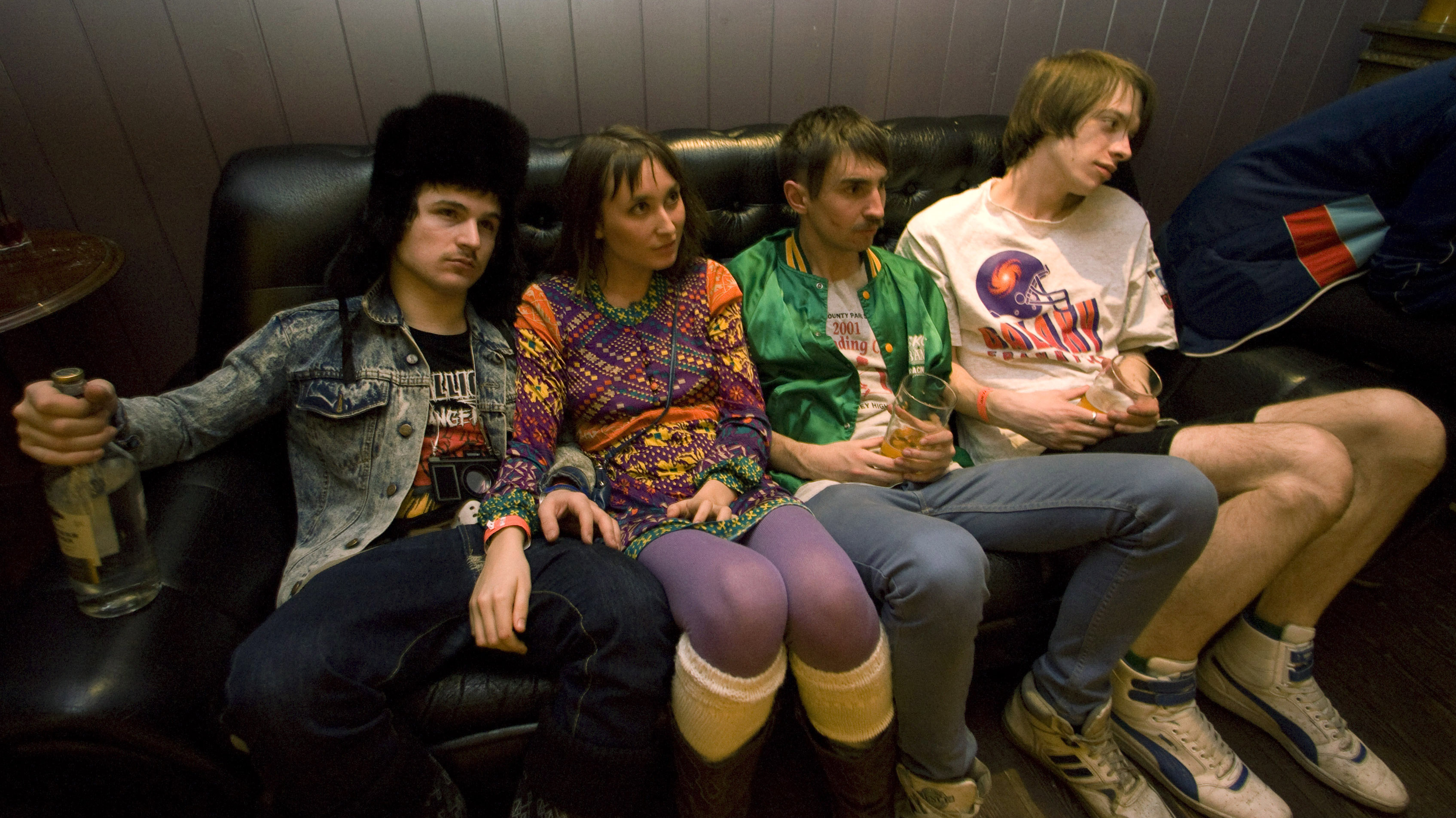 young people on a couch