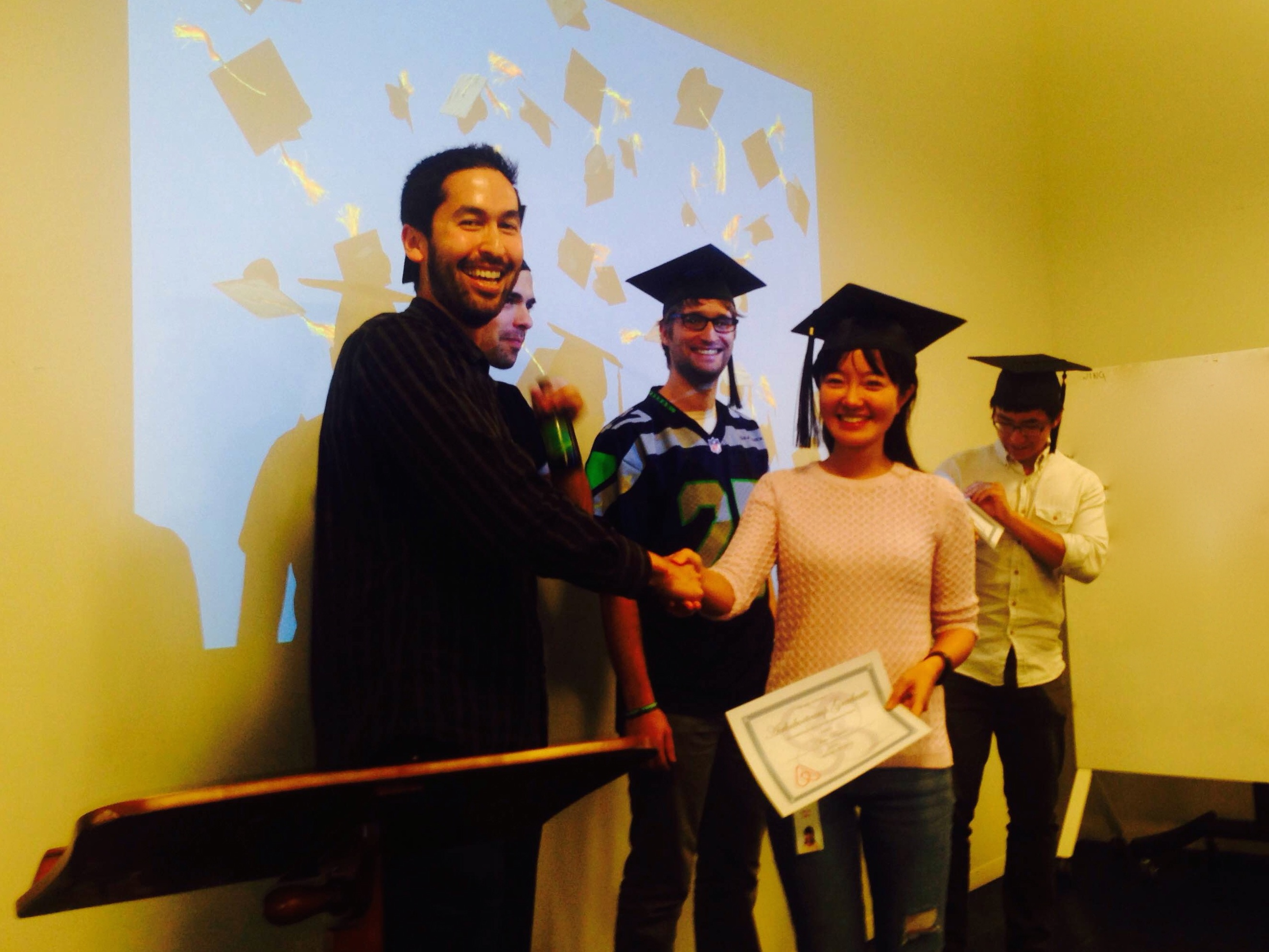 airbnb engineering bootcamp cap and gown