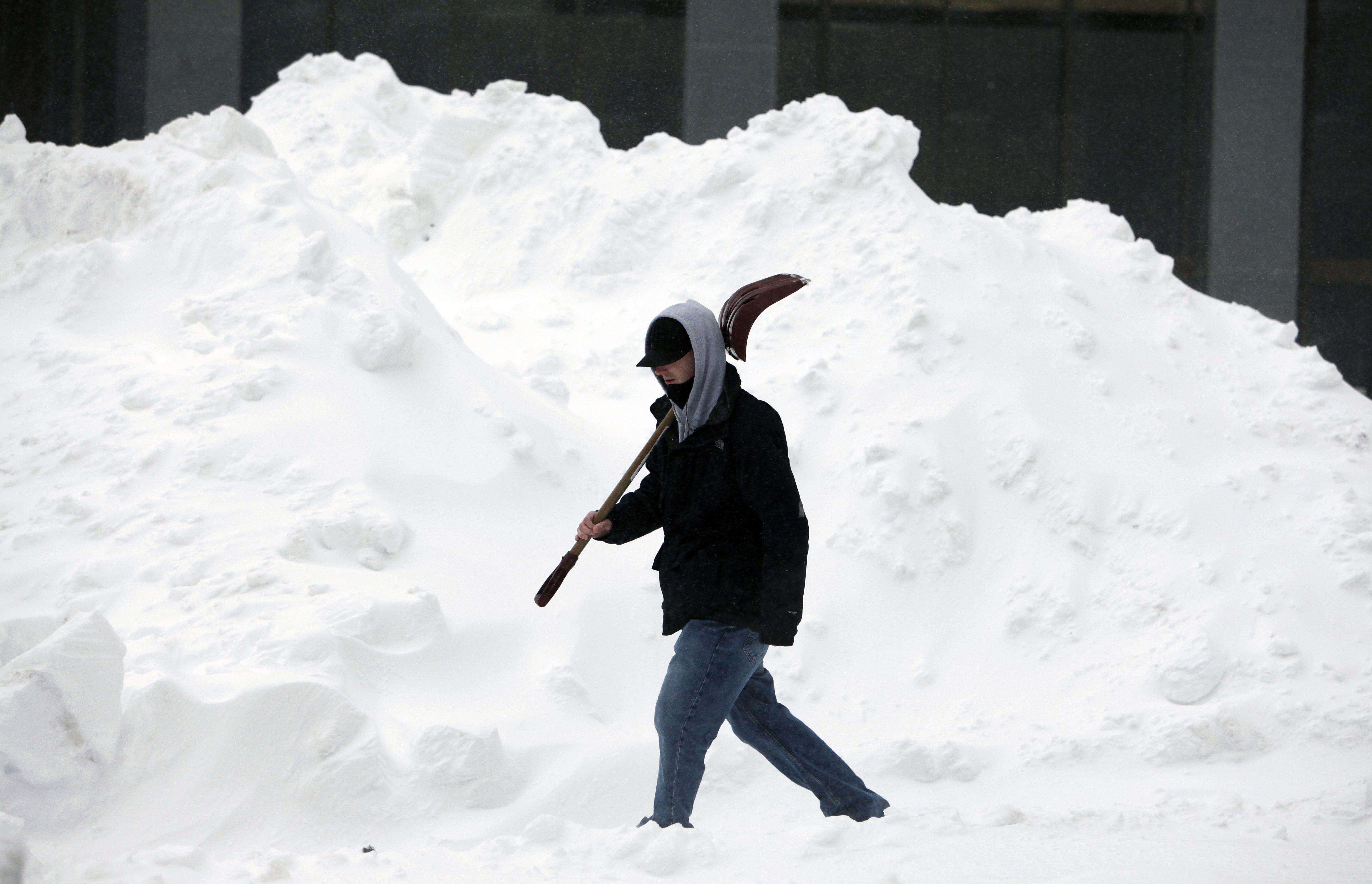 boston snow shovel