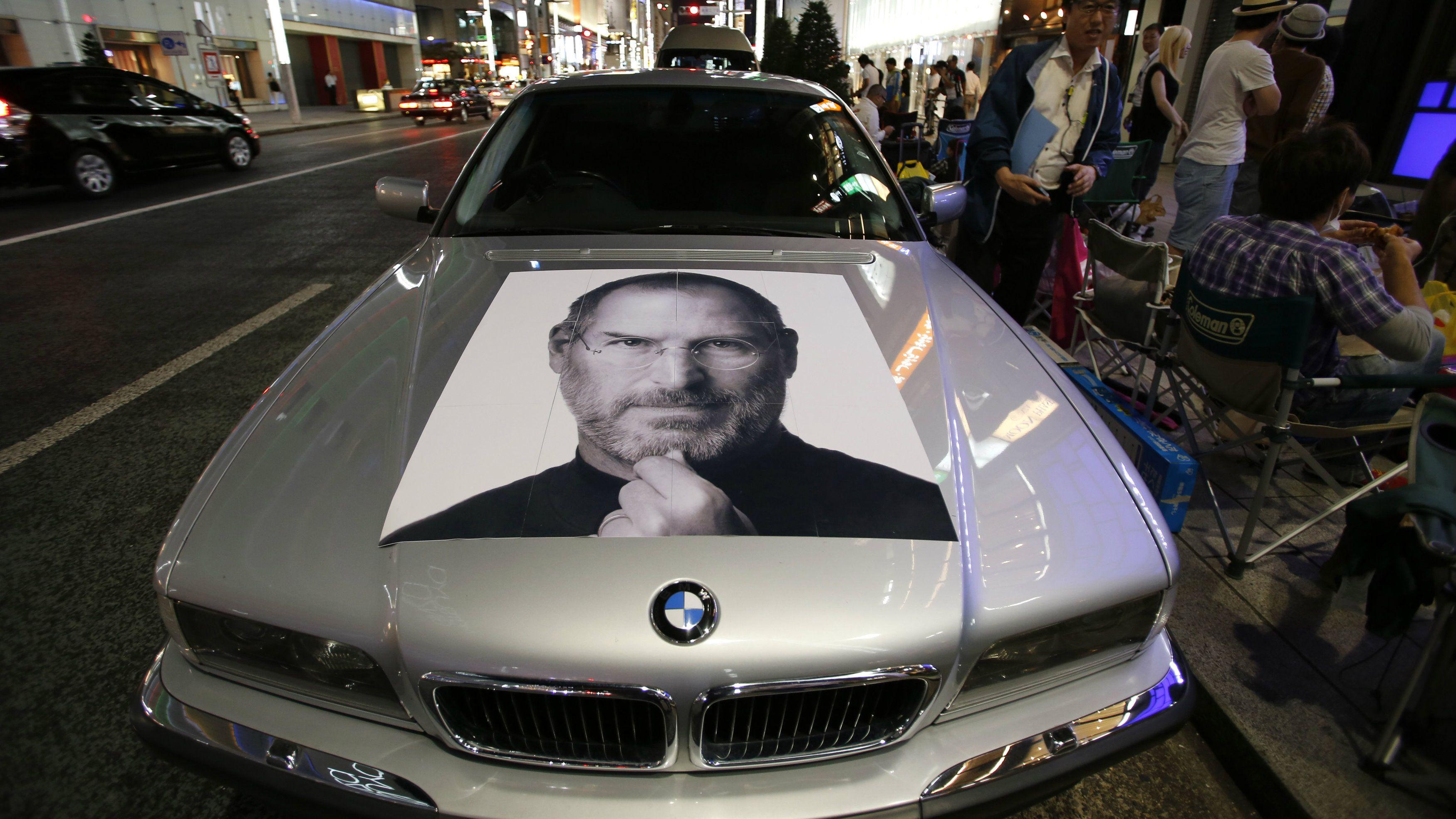 Apple electric car experiment Steve Jobs