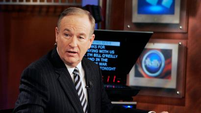 "**FILE**Fox News commentator Bill O'Reilly appears on the Fox News show, ""The O'Reilly Factor,"" on Jan. 18, 2007 in New York. O'Reilly and Geraldo Rivera said Friday, April 6, 2007, there were no hard feelings after they engaged in a shouting match over illegal immigration on Fox News Channel's ""The O'Reilly Factor"" Thursday night.(AP Photo/Jeff Christensen)"