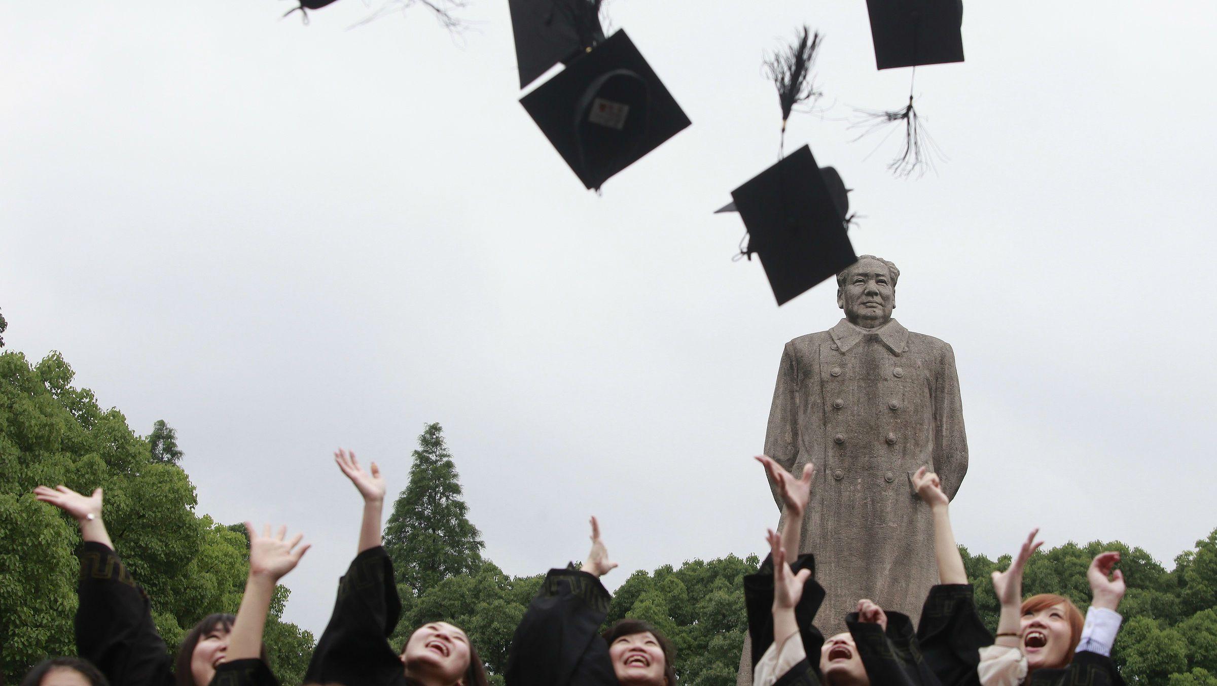 chinese graduation mao web