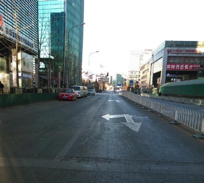empty beijing weibo 2