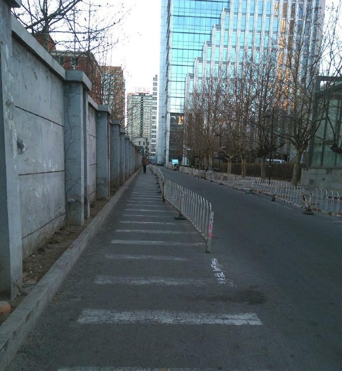 empty beijing weibo