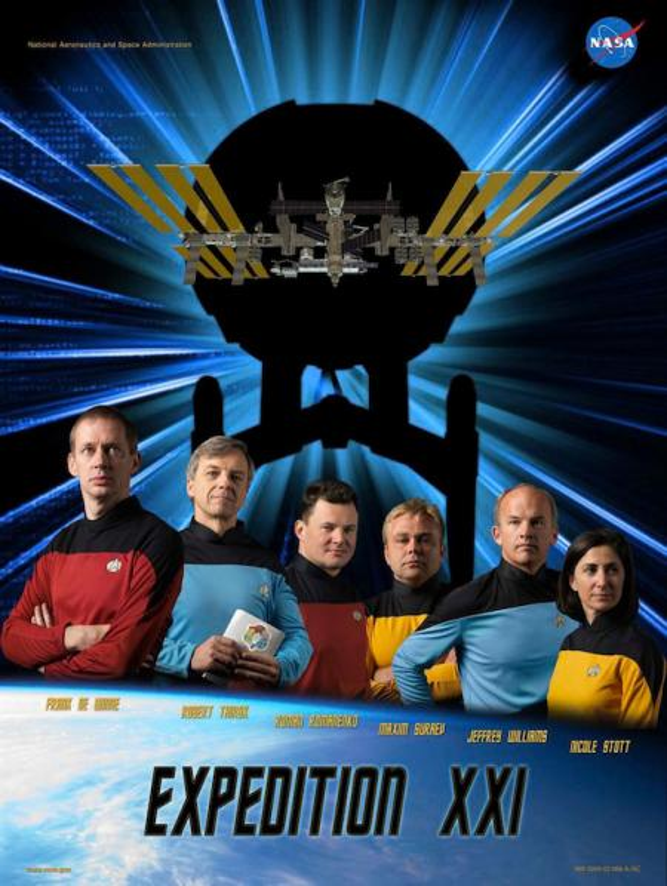 Expedition 21 Star Trek