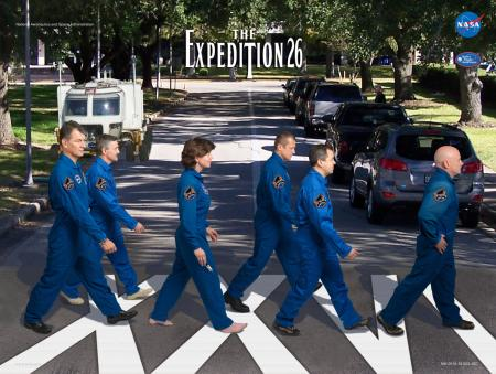 Expedition 26 Beatles