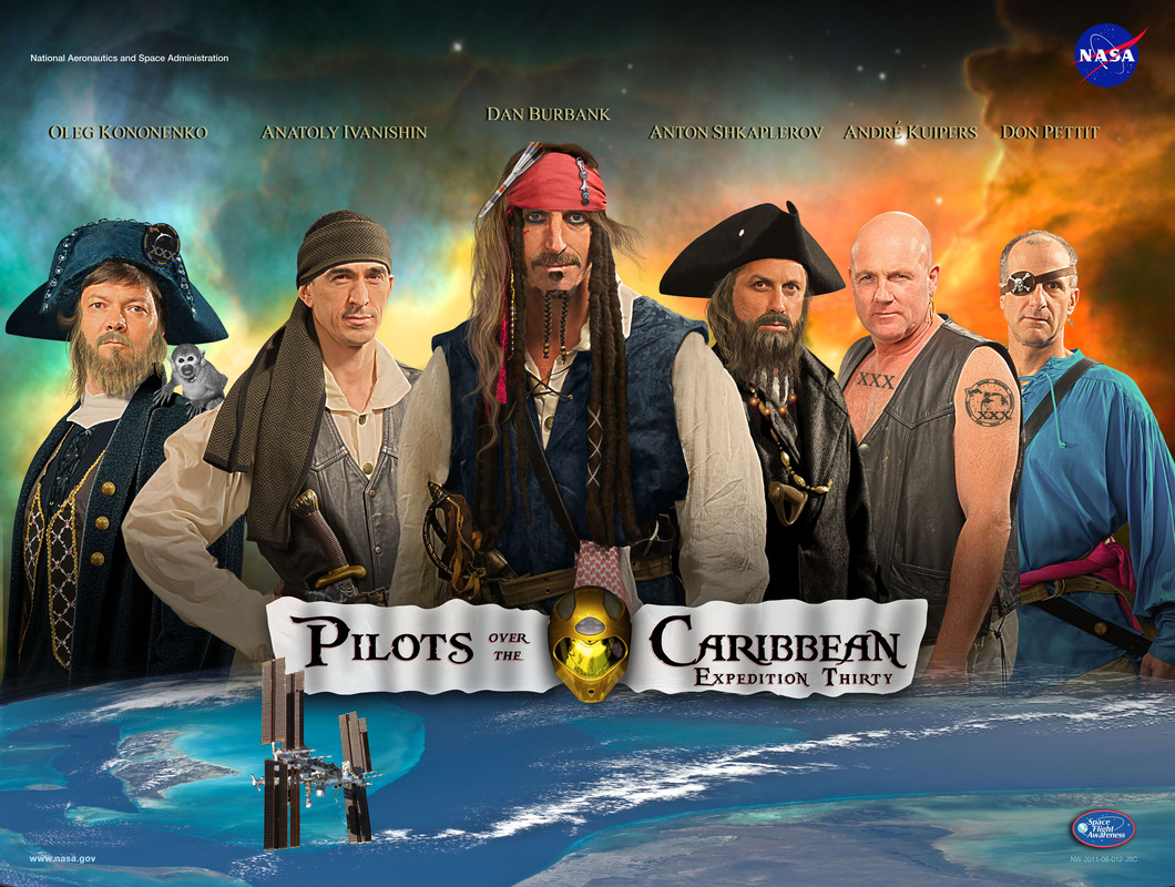 Expedition 30 Pirates of the Caribbean