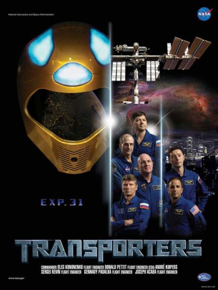Expedition 31 Transformers