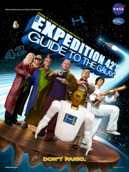 Expedition 42 Hitchhiker's Guide to the Galaxy