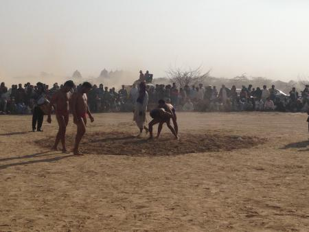 Cholistan Desert Jeep Rally-Pakistan-Wrestling