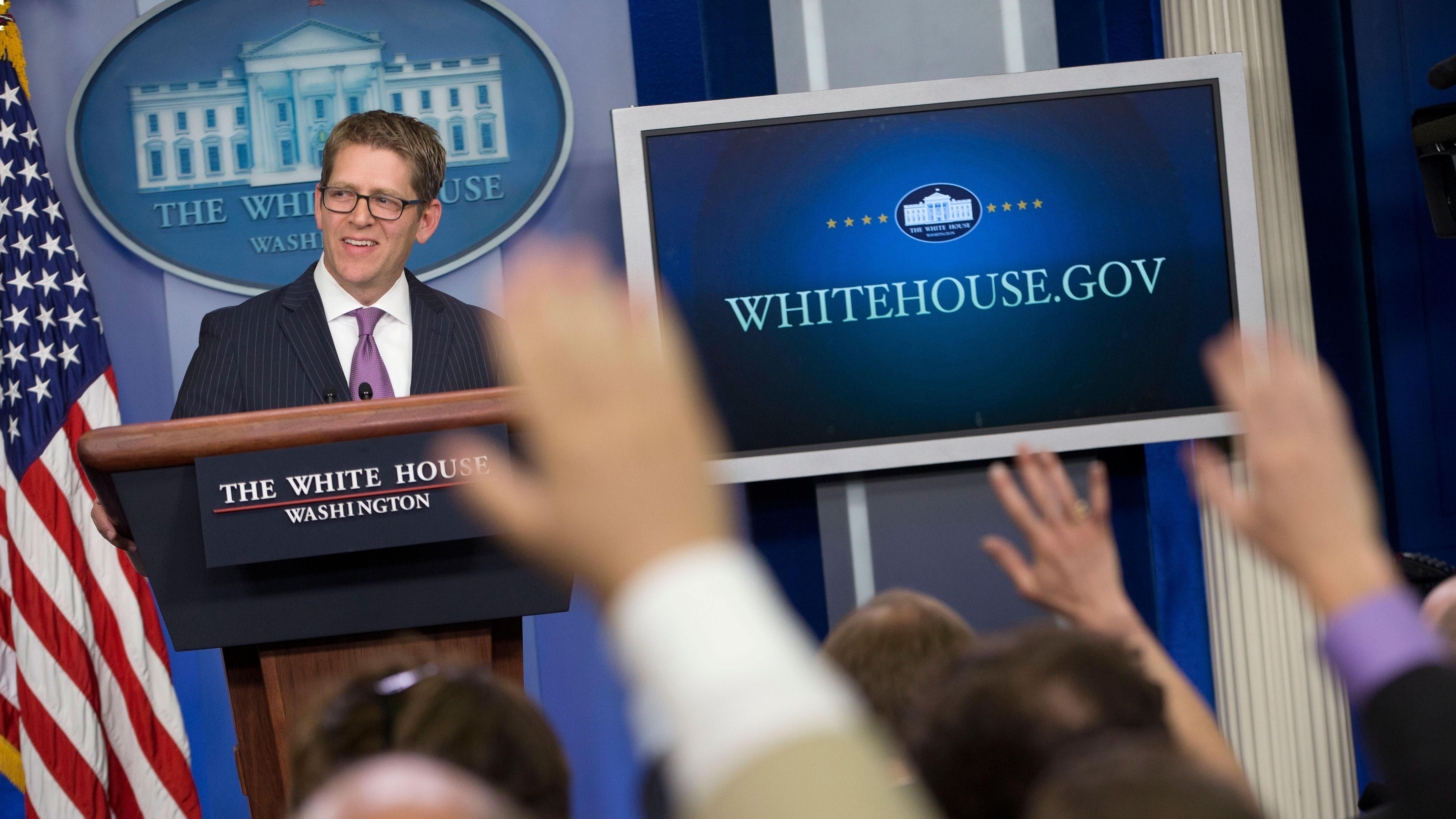 jay carney white house amazon