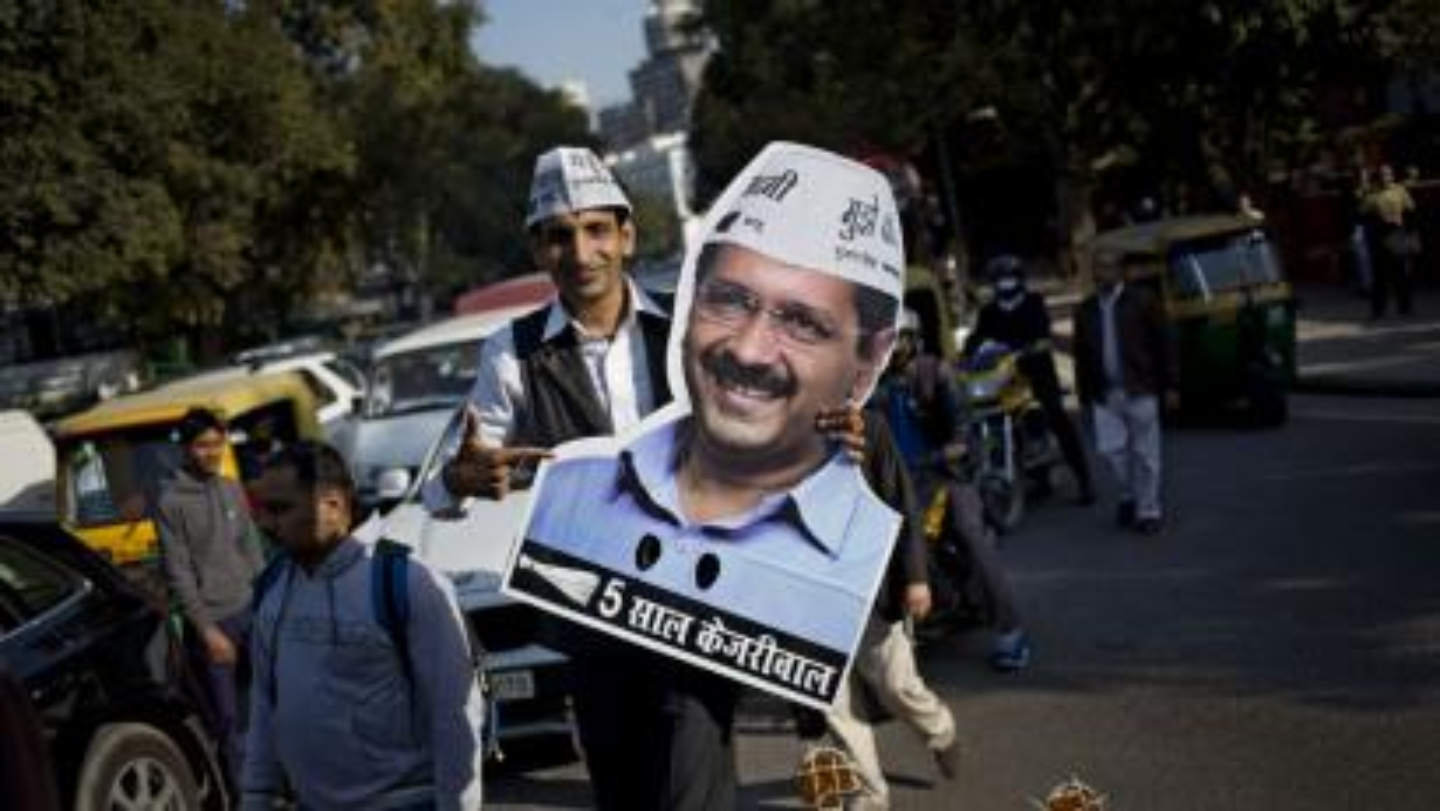 India-Modi-Kejriwal-Delhi