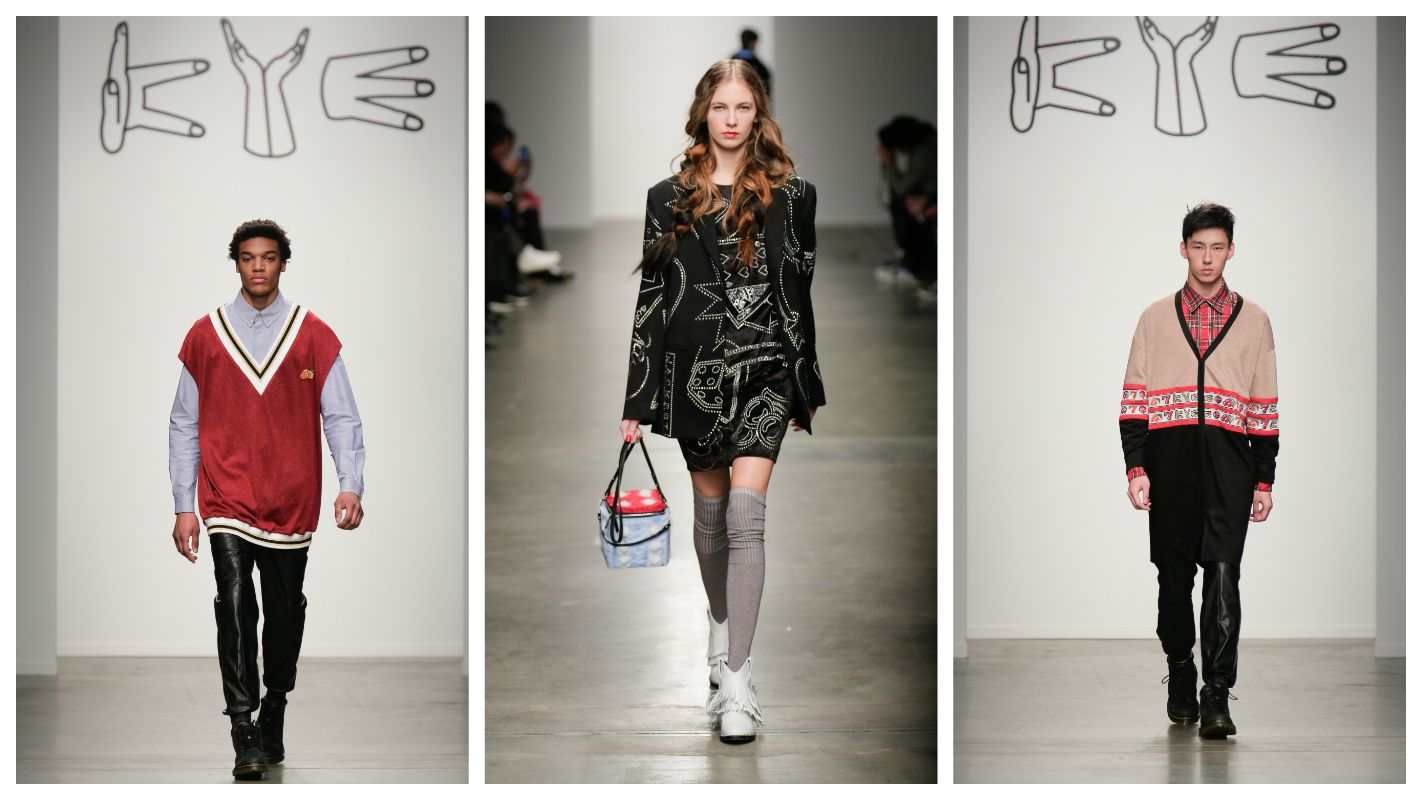 fashion, kye, k-pop, new york fashion week, kathleen kye, fall/winter 2015