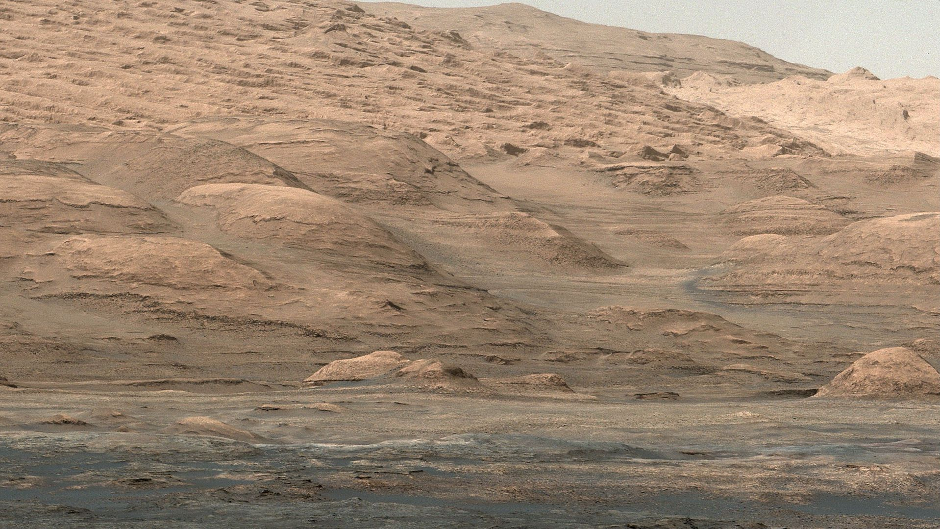 Mount Sharp, Mars