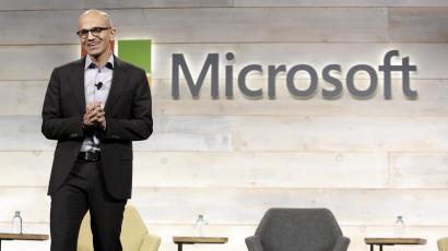 Microsoft Corp Chief Executive Satya Nadella speaks at his first annual shareholders' meeting in Bellevue, Washington December 3, 2014. Nadella has added $90 billion to Microsoft's market value since taking the helm in early February. REUTERS/Jason Redmond