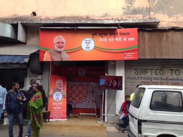 Modi-Selfie-Elections-Khan Market