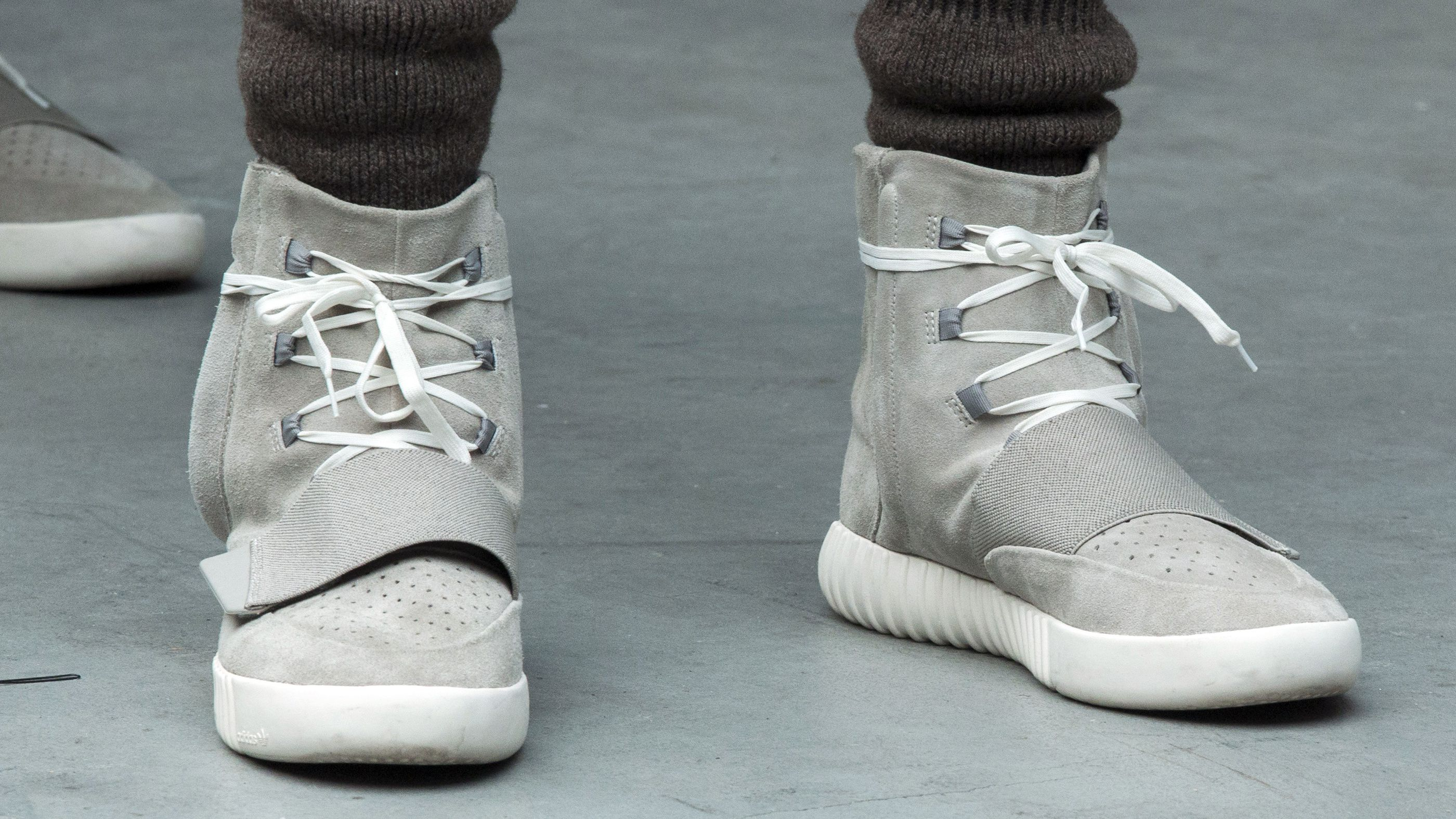 designer fashion e4931 d9f72 Kanye won't stop trash-talking Nike, but his new Adidas line ...