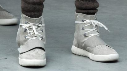 designer fashion baa94 1a364 Kanye won't stop trash-talking Nike, but his new Adidas line ...