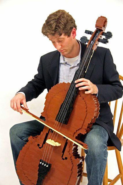 Nathan Sawaya cello
