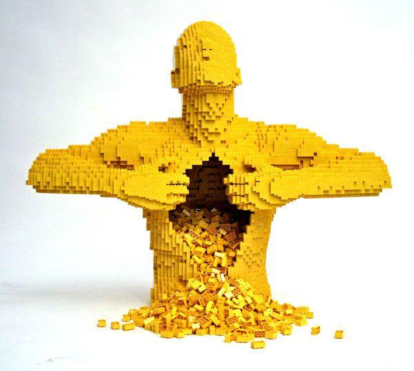 Nathan Sawaya yellow