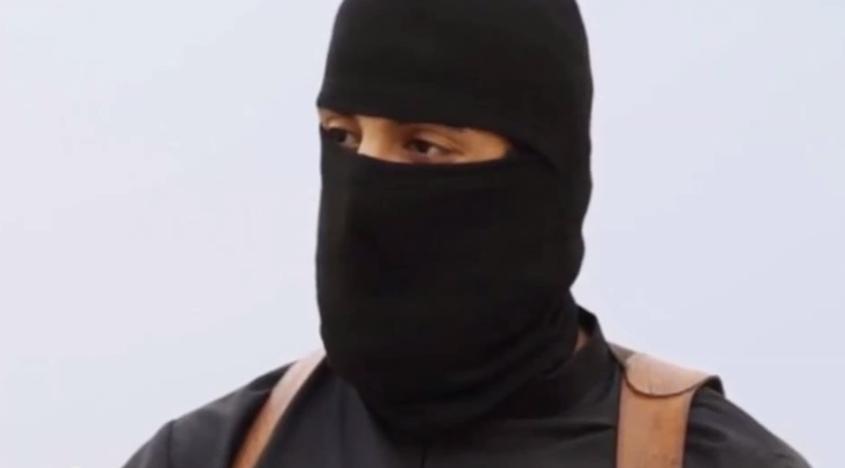 A still from a video showing 'Jihadi John' Mohammed Emwazi
