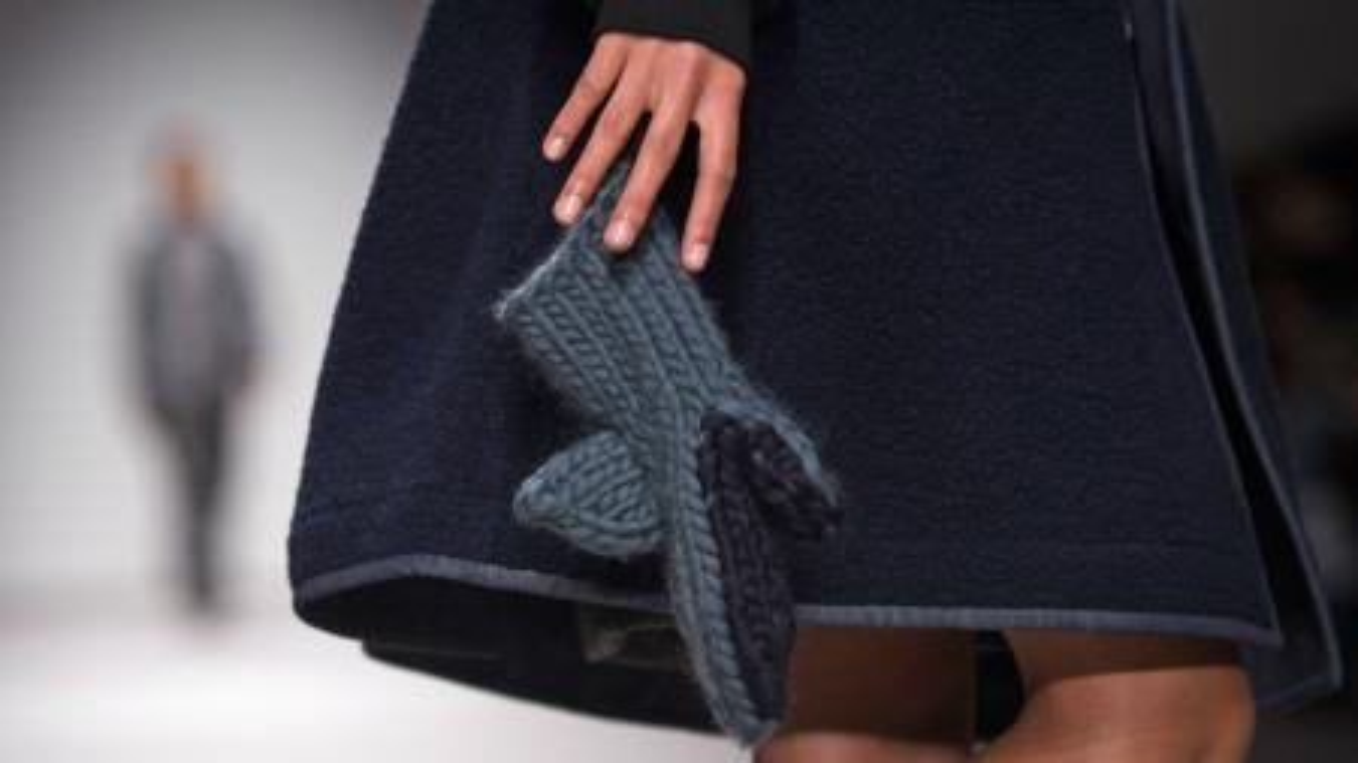 fashion week, london fashion week, shark mittens, christopher raeburn, wool and the gang,