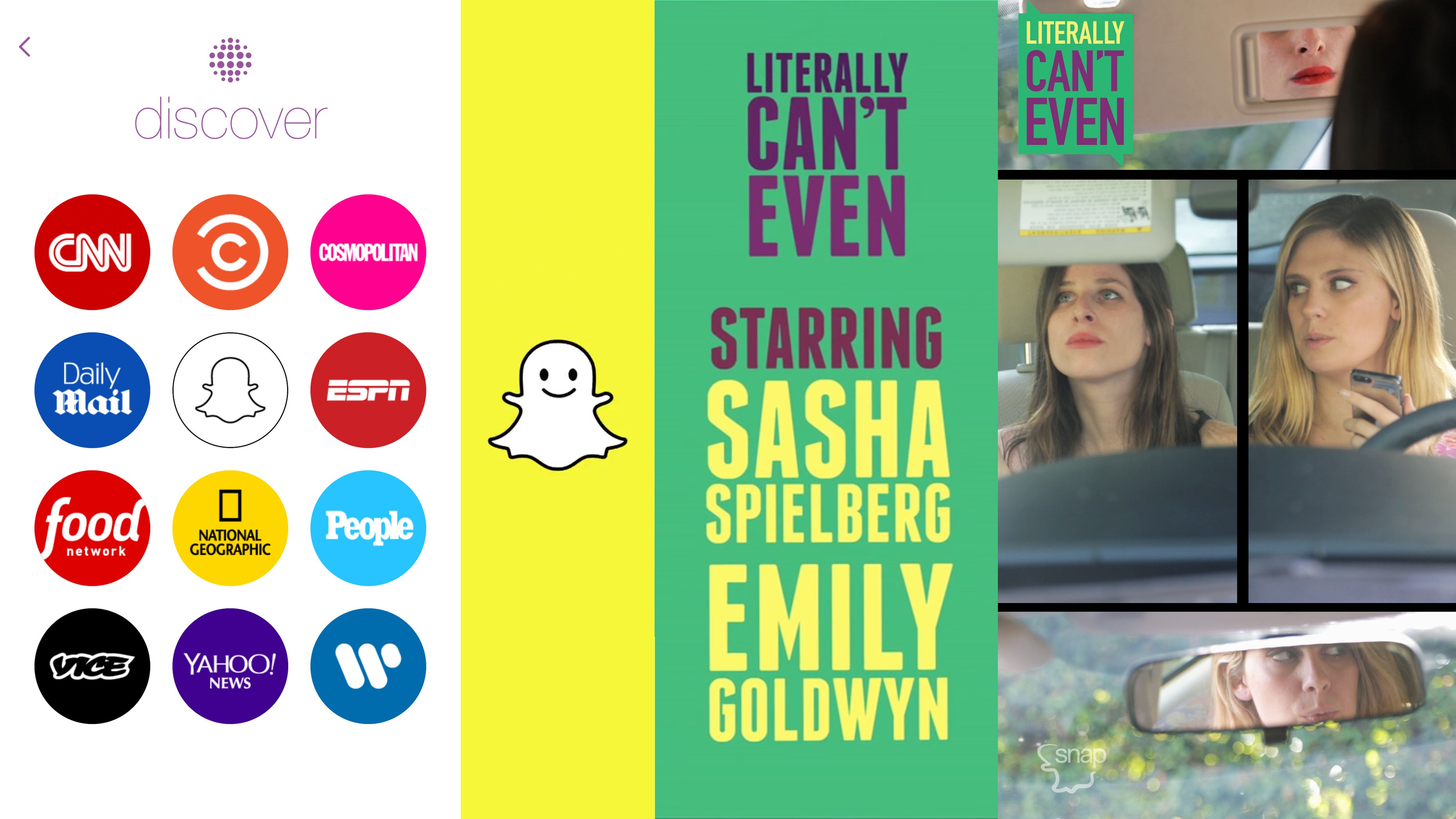 Snapchat Discover