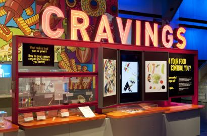 Antenna exhibition; Cravings: Can your food control you?