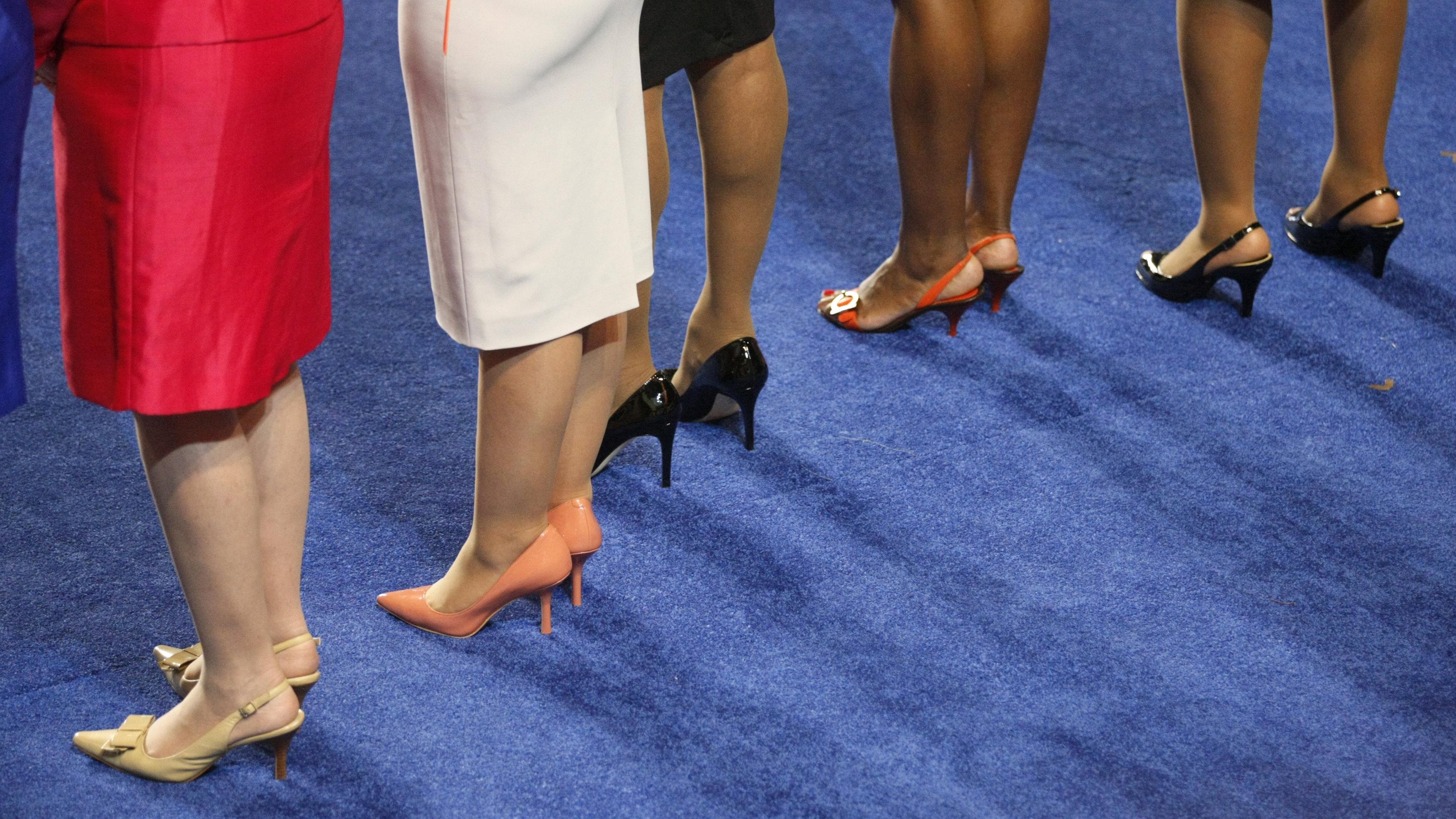 women representatives legs