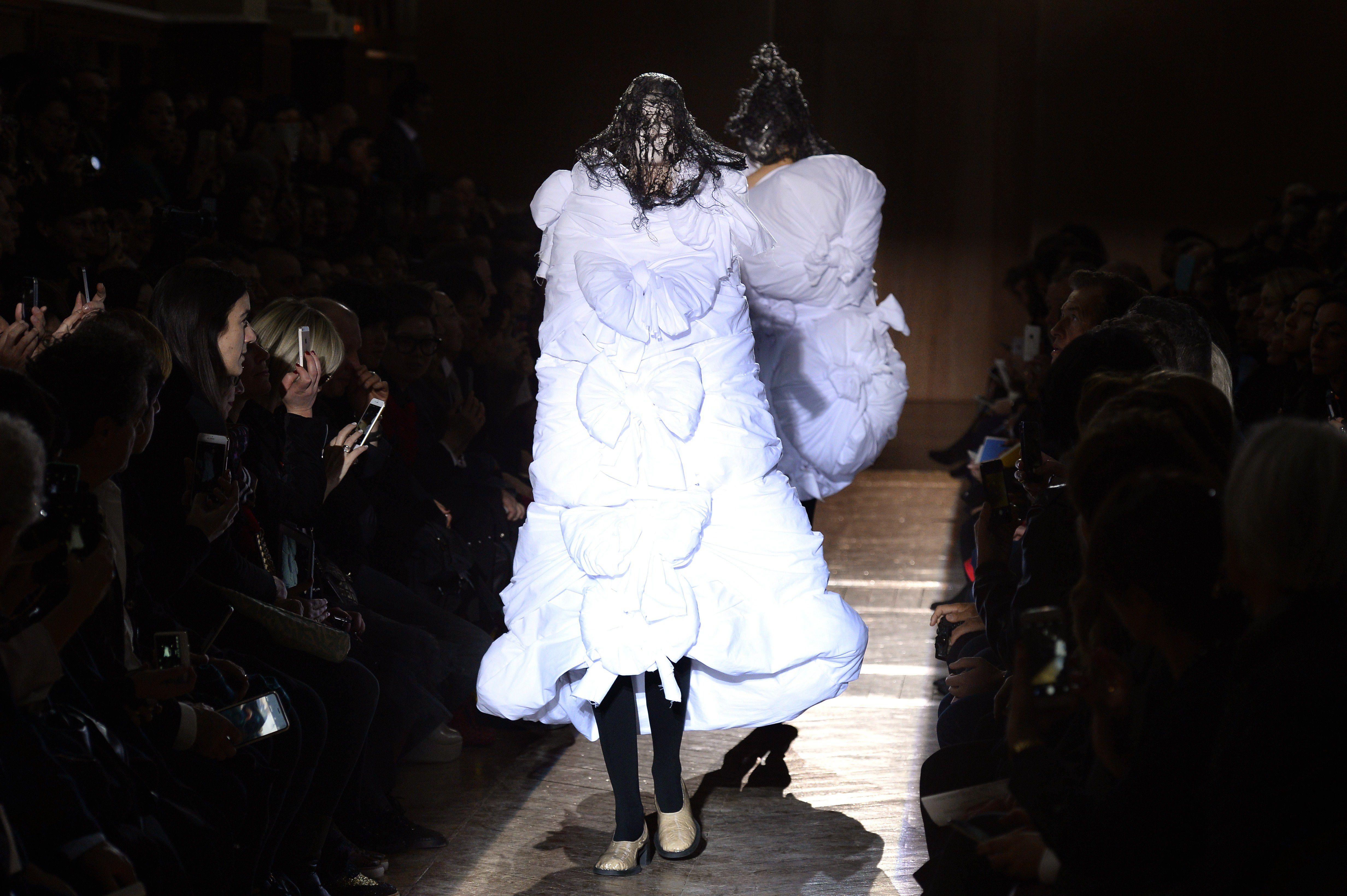comme des garcons, fashion, style, fall 2015, japan, paris fashion week
