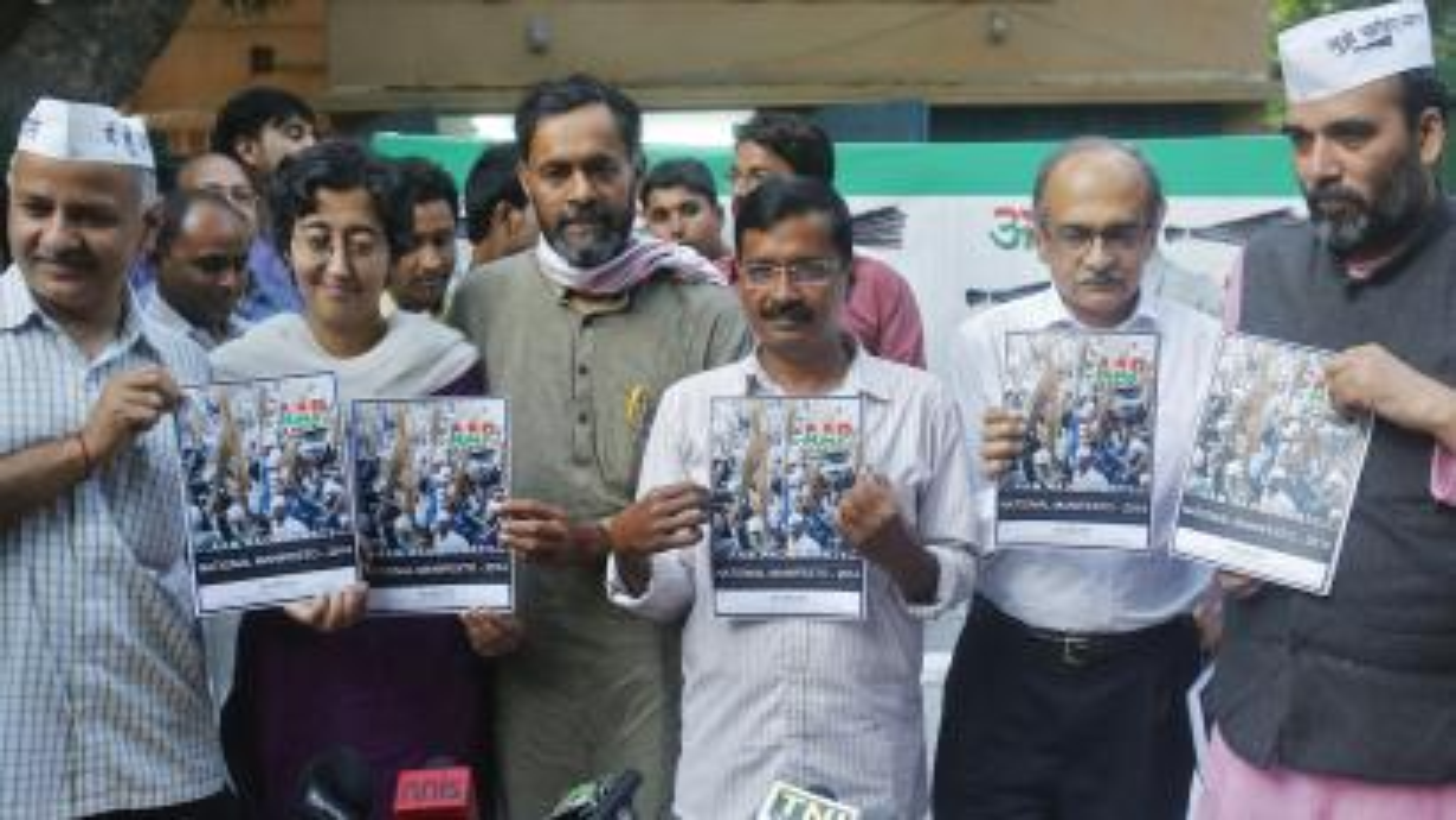 Arvind Kejriwal-Yogendra Yadav-AAP crisis