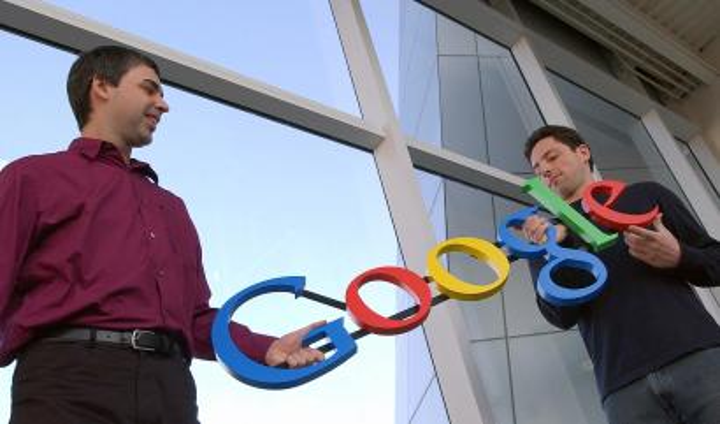 Sergey Brin, Larry Page Google