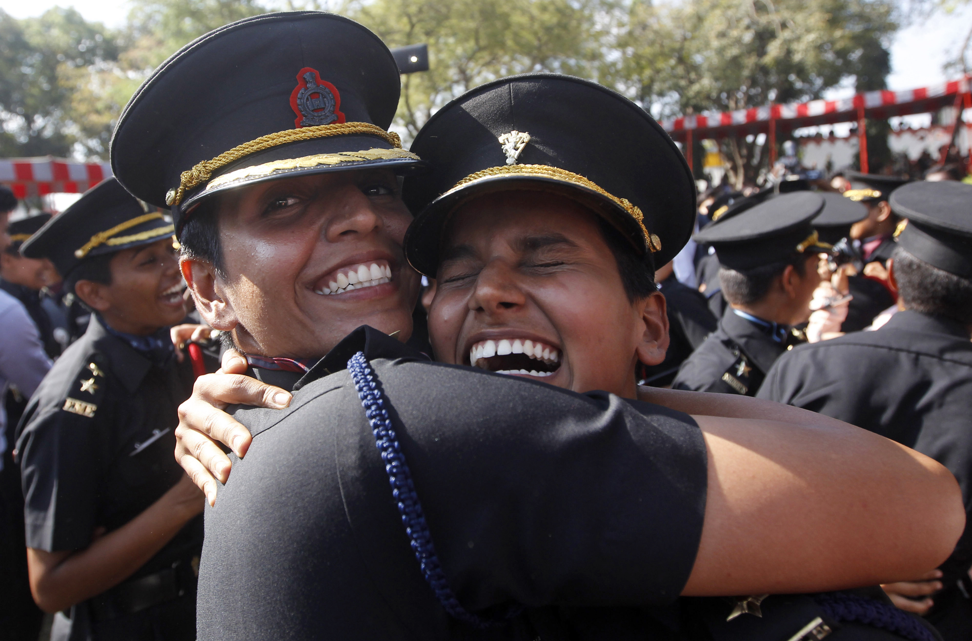 Indian Army-soldiers-women