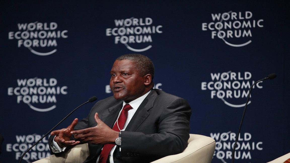 A Nigerian industrialist lost $10 billion last year but is still