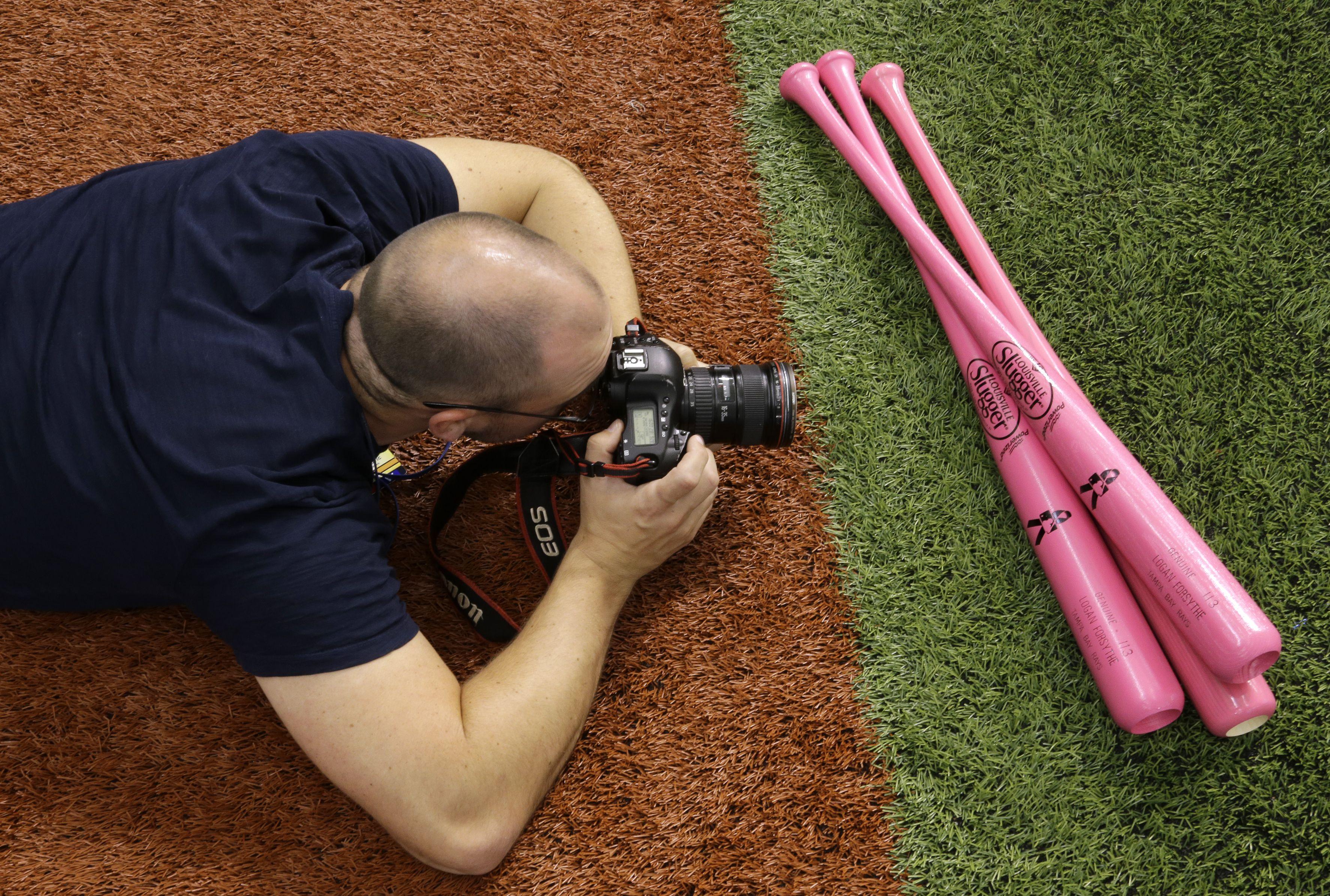 Louisville Slugger bats