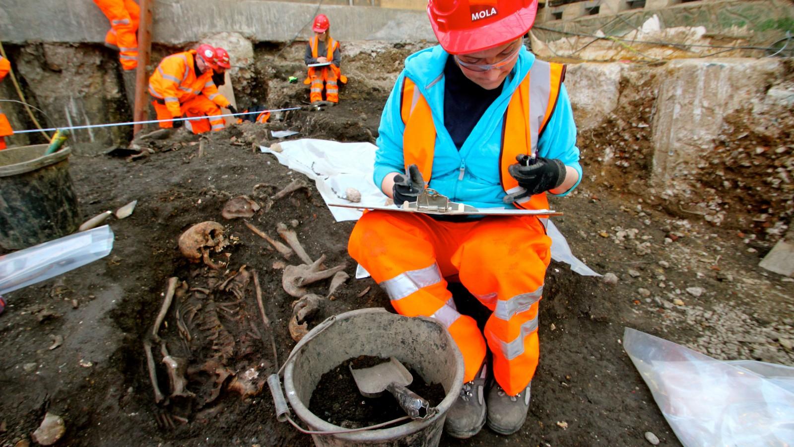 Archeologists begin excavation of Belam Burial Ground