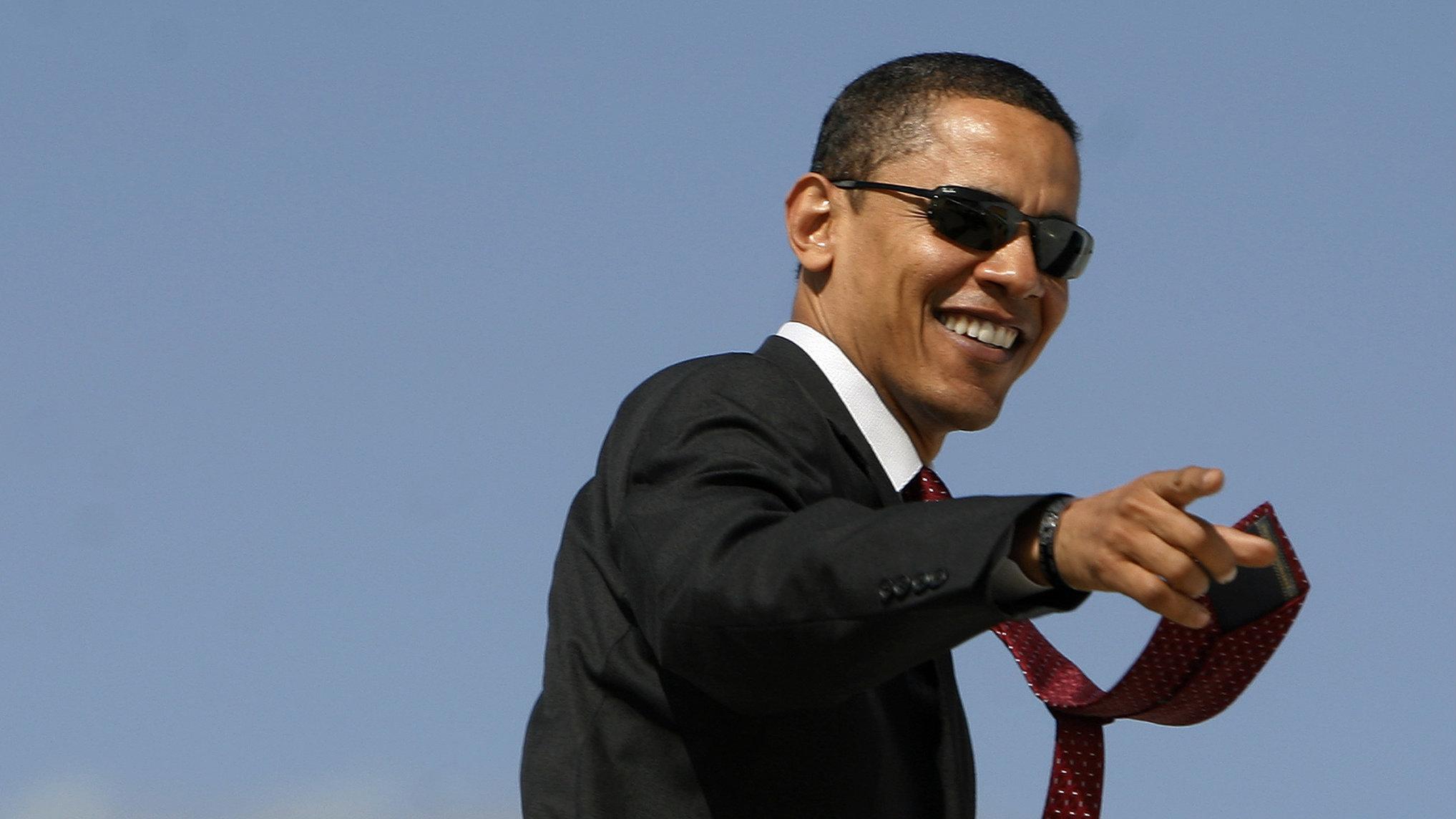 confident obama