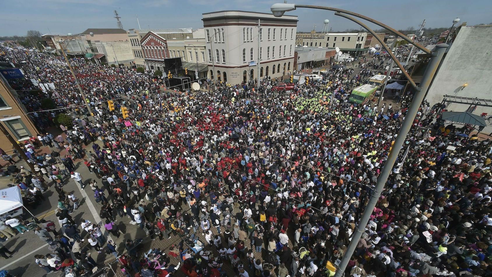 The First March From Selma Bloody sunday pictures selma