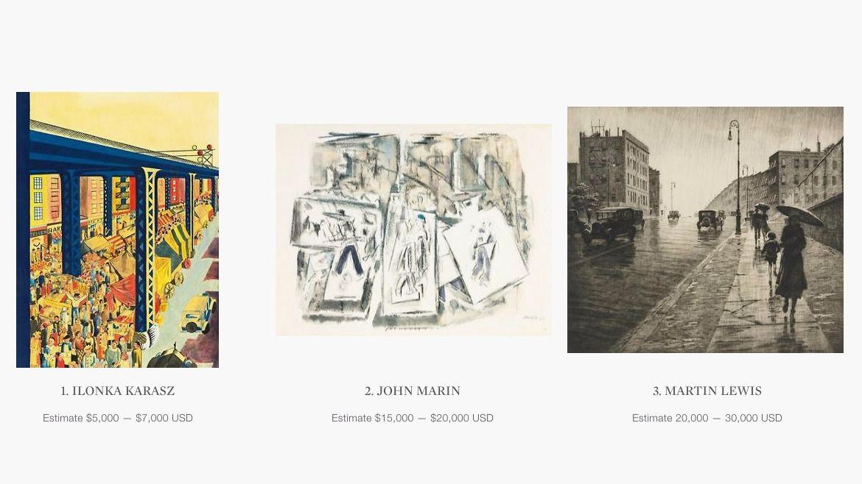 eBay and Sotheby's Live Auction platform