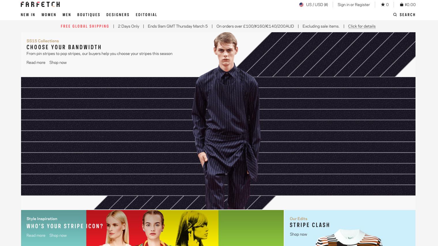farfetch, ecommerce, startup, fashion, style, lifestyle, clothing, shopping