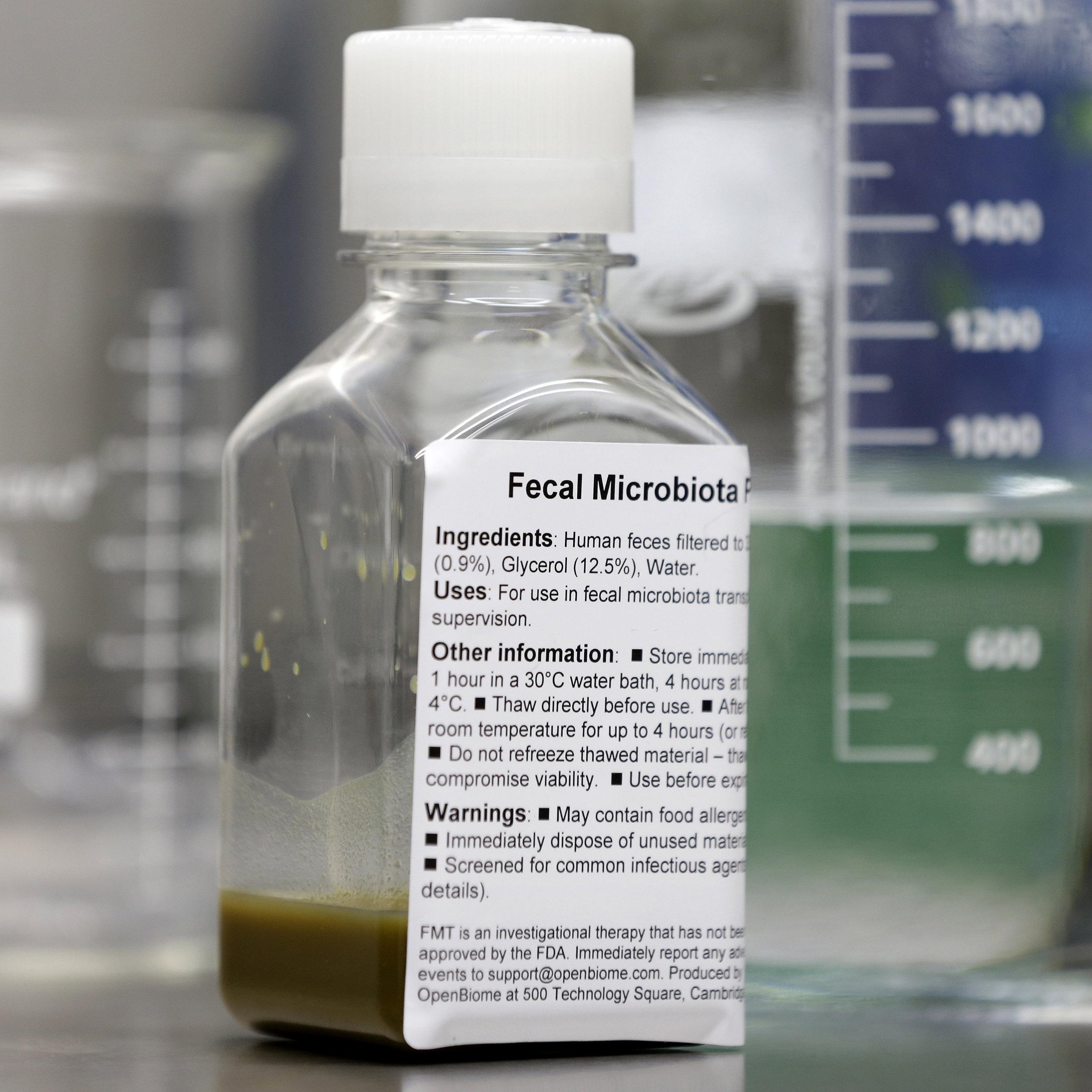 fecal matter solution