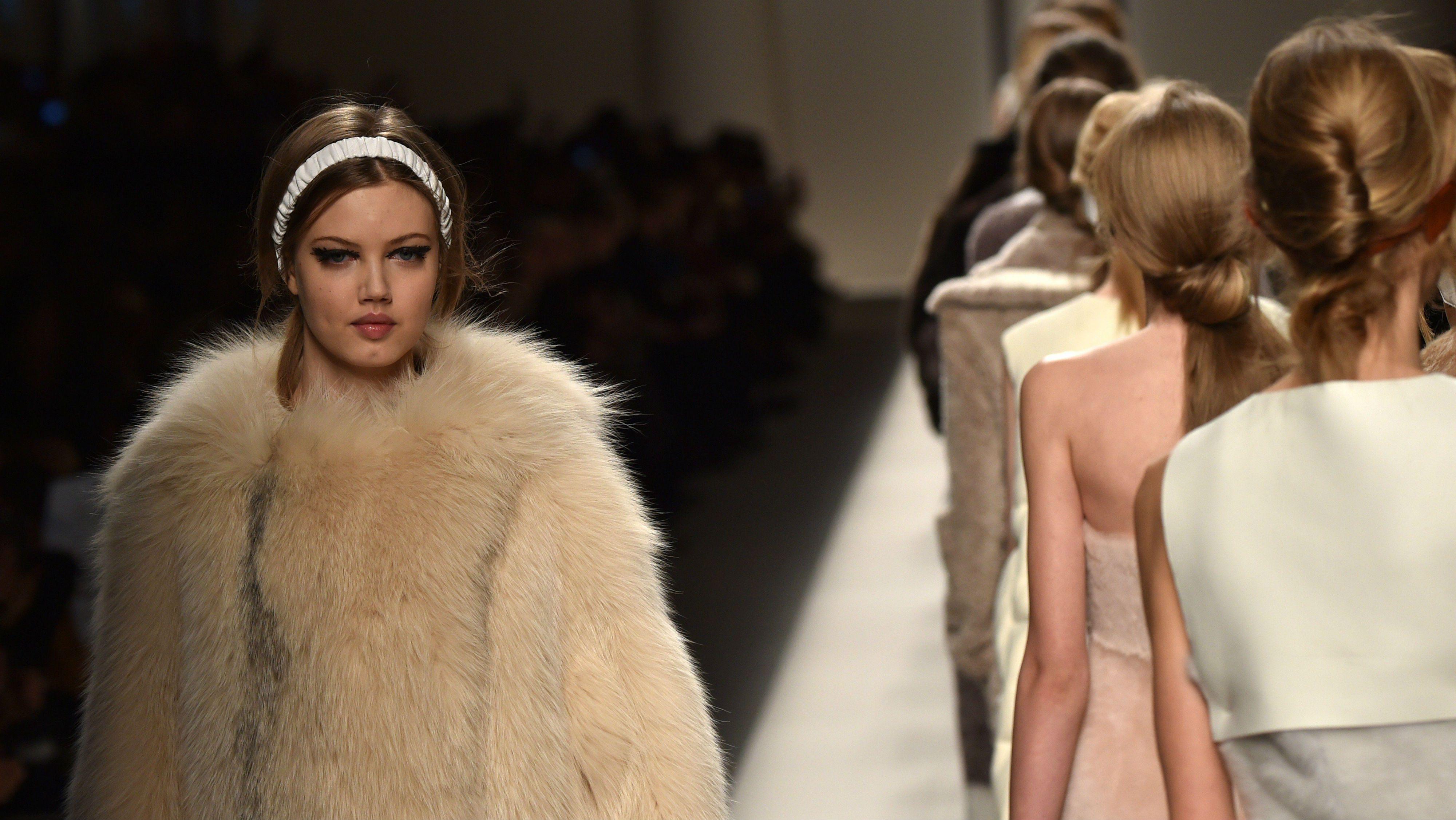 fur, fashion week, fendi